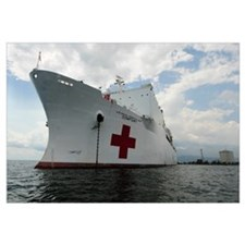 Military Sealift Command hospital ship USNS Comfor