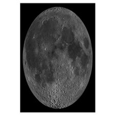 Mosaic of the lunar nearside