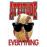 Attitude is Everything Wall Art