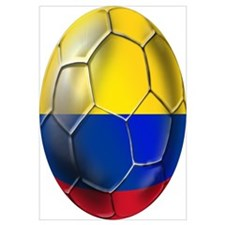 Colombian Soccer Futbol Wall Art