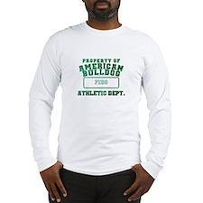 Personalized American Bulldog Long Sleeve T-Shirt