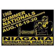 Niagara Drag Strip Wall Art