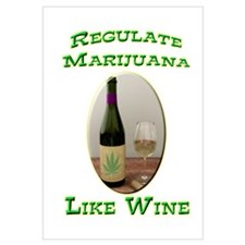 Regulate Marijuana Wall Art