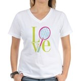 Cute Tennis heart Shirt