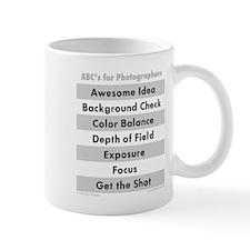 ABCs for Photographers Mug