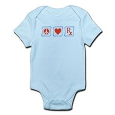 Peace, Love and Pharmacists Infant Bodysuit