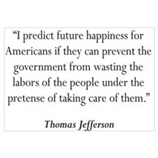 Thomas Jefferson Quote #5 Wall Art