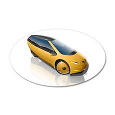 Velomobile Concept 22x14 Oval Wall Peel