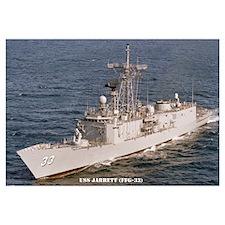 USS JARRETT Wall Art