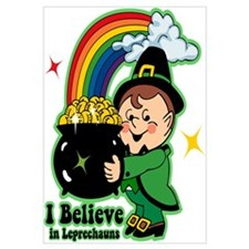 Believe In Leprechauns Wall Art