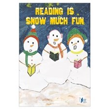 Small RIF Snowmen Poster