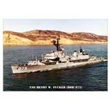 USS HENRY W. TUCKER Wall Art
