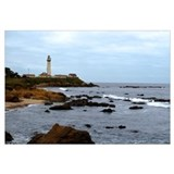 Pigeon Point Rocky Shore Wall Art