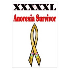 Anorexia Survivor Wall Art