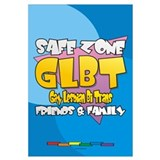 Safe Zone 11x17 Poster - English
