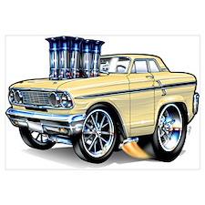 1964 Ford Thunderbolt Wall Art
