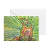 COLORES DE AZTECA Greeting Cards (Pk of 10)