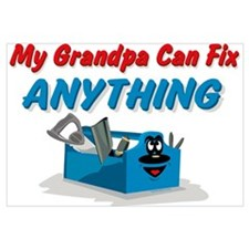 Fix Anything Grandpa Wall Art