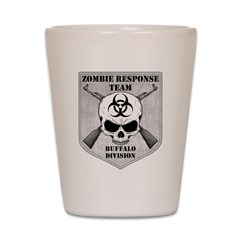 Zombie Response Team: Buffalo Division Shot Glass