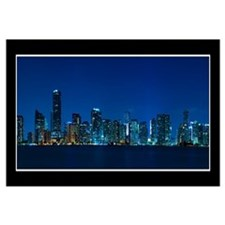 Miami skyline Wall Art