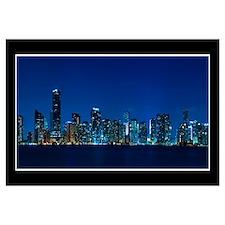 Miami skyline Wall Art