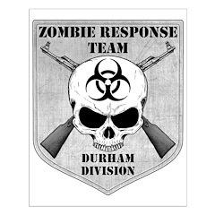 Zombie Response Team: Durham Division Posters