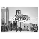 Las Vegas Sign &amp; Strip Wall Art