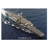 USS FORRESTAL Wall Art