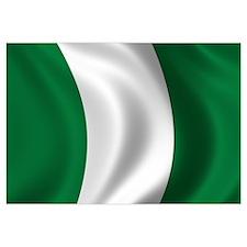 Flag of Nigeria Wall Art