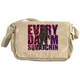 Shufflin' Sasquatch Messenger Bag