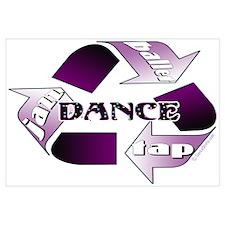 Recycle Dance Wall Art