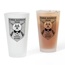 Zombie Response Team: Fontana Division Drinking Gl