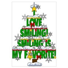 Smiling is my favorite Elf Movie Classic Wall Art