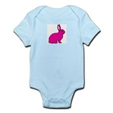 Pink Rabbit Infant Creeper