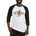 Save Gas Ride A Camel Funny Baseball Jersey