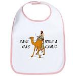 Save Gas Ride A Camel Funny Bib