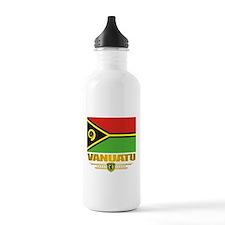 """""""Vanuatu Flag"""" Water Bottle"""