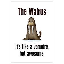 Walrus Vampire Wall Art