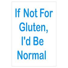 If Not For Gluten Wall Art