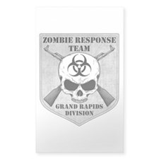 Zombie Response Team: Grand Rapids Division Sticke