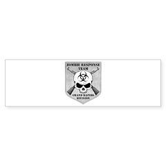 Zombie Response Team: Grand Rapids Division Sticke