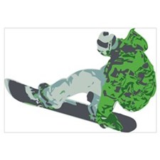 Snowboarding Wall Art