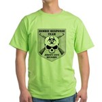 Zombie Response Team: Jersey City Division Green T