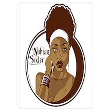 Nubian Sister Wall Art