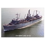 USS SIMON LAKE Wall Art
