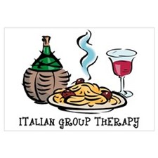 Italian Group Therapy Wall Art