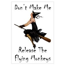 Release the Flying Monkeys Wall Art