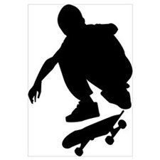 Skate On Wall Art