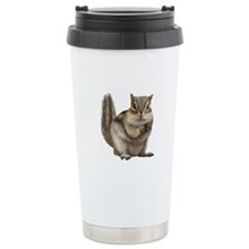 Chipmunk Ceramic Travel Mug