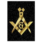 Masonic Master in the sky Wall Art